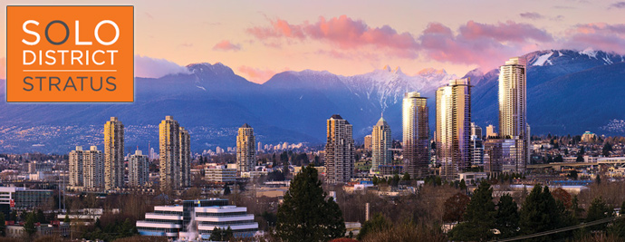 SOLO District STRATUS Condos in Burnaby Brentwood Town Centre real estate market.