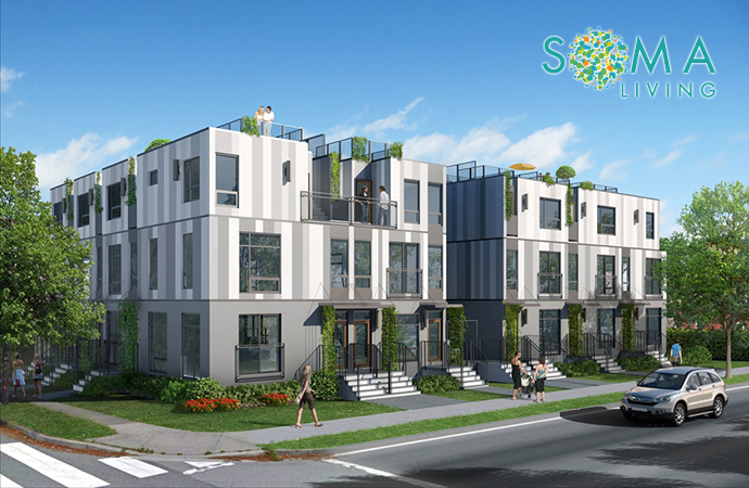SOMA Living offers Mt Pleasant Vancouver townhomes for sale South of Main in East Vancouver real estate market.