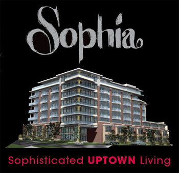 Sophisticated uptown Vancouver living is no longer available at the Sophia Condos by Eden Group of Companies after they cancelled this pre-construction condo project last November.