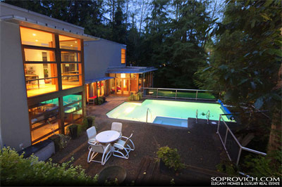 The Twilight New Moon West Vancouver home is a luxury British Properties House for Sale by Jason Soprovich.