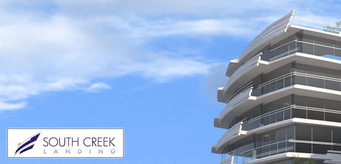 False Creek Vancouver South Creek Landing Condos by Port Capital Group.