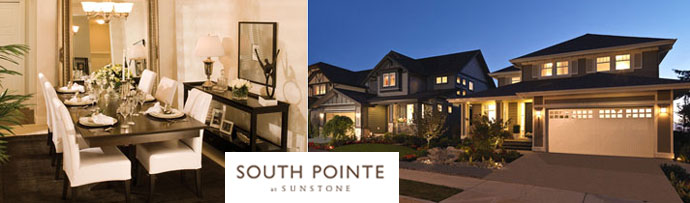 The North Delta South Pointe Sunstone homes for sale by Morningstar Homes in North Delta real estate market.