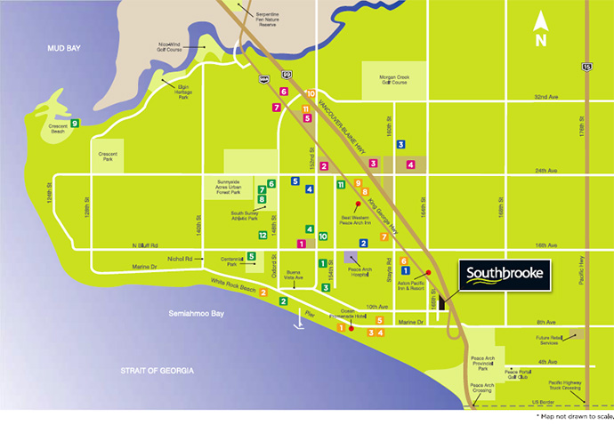 South Surrey real estate development.