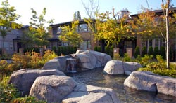 The McLennan North Richmond property neighbourhood introduces the resale Springbrook Estates at the Hamptoms townhomes.