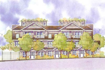 Central Lonsdale introduces the St. Andrews Gardens Townhomes and City Homes in the presale North Vancouver real estate market.