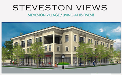 Affordable Steveston Richmond real estate for sale at the Built GREEN Steveston Views LEED Certified townhomes now launched at Chatham Street.