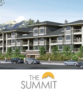 The presale Chilliwack condos at the Summit provide affordable condominiums in the Fraser Valley real estate market place.