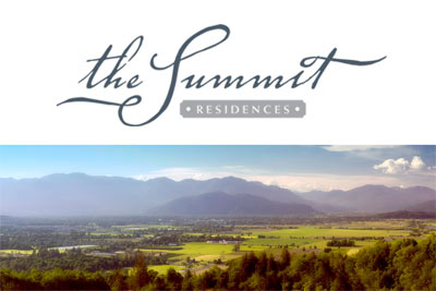 Fraser Valley real estate offering at the new Chilliwack Summit Residences.