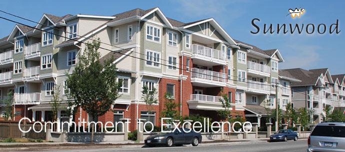 The Sunwood Maple Ridge Retirement Condominiums for sale.