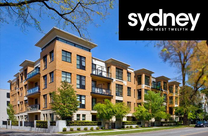 Westside Vancouver Sydney on West Twelfth Condos for Sale.