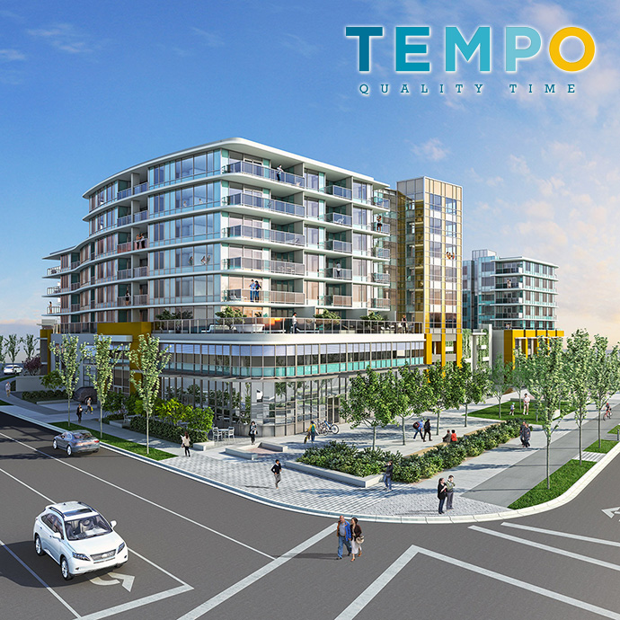 Presale Richmond TEMPO by Amacon condos for sale.