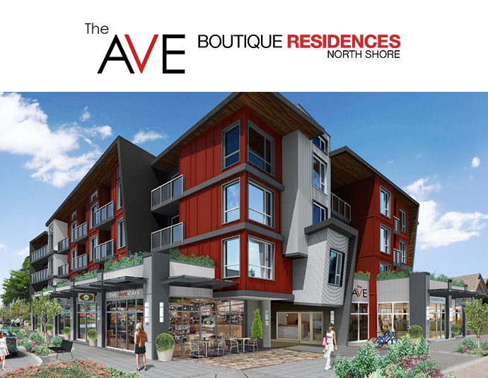 The Ave North Vancouver boutique residences.