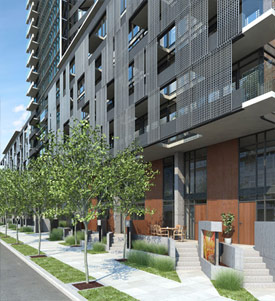 LEED Gold Vancouver condos at the Yaletown Mark by Onni Group is an architectural masterpiece