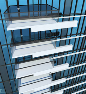 The landmark Mark Vancouver condominiums are LEED Gold certified and designed by Hotson Bakker Boniface Haden.