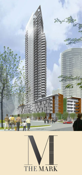 The downtown Vancouver Mark Yaletown condo tower is launching sales soon.