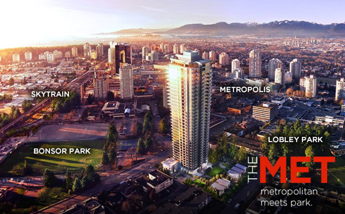 size 40 dfbc4 1de99 An introduction to the Metrotown Burnaby MET Condos by Concord Pacific.