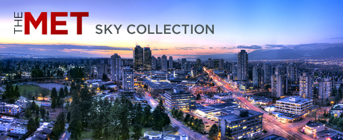The Metrotown Burnaby THE MET SKY COLLECTION by Concord Pacific.