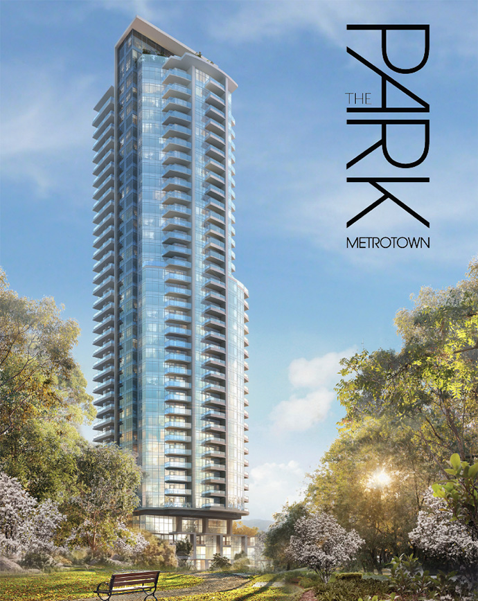 Intergulf Development presents The Park Metrotown Burnaby condo high-rise residences for sale.