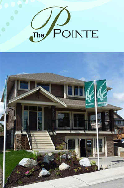Concordia Developers presents The Pointe Maple Ridge homes for sale, a new subdivision of estate sized lots.
