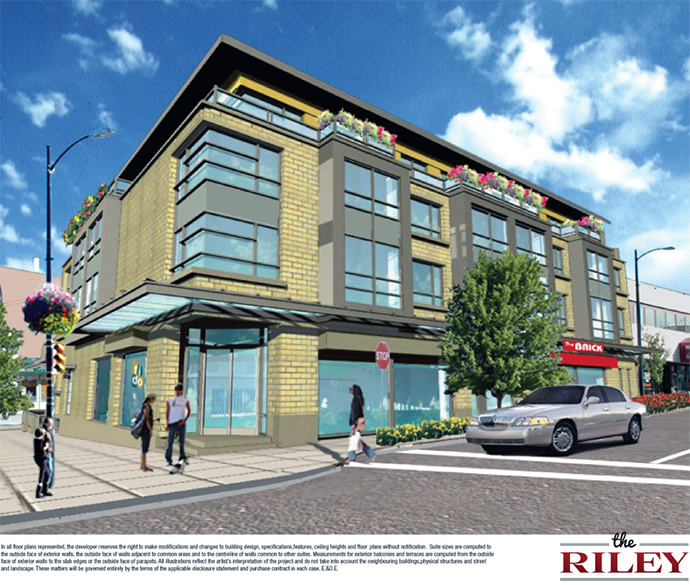 The Riley, 222 West 30th Avenue Vancouver, Boutique