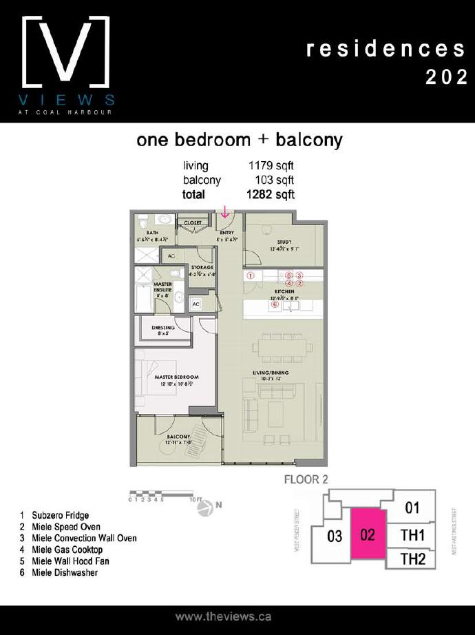 The Views Residence floor plan.