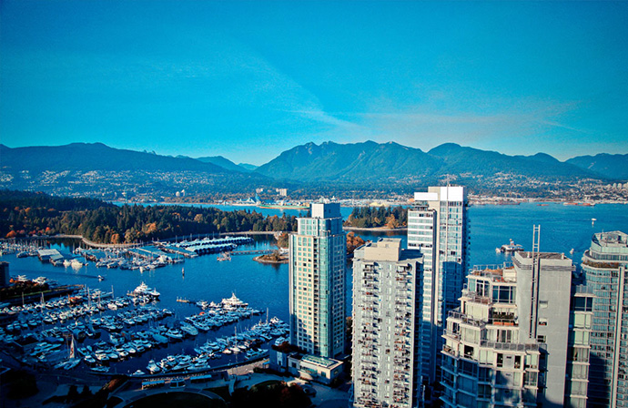 The Views at Coal Harbour Janda Group ashley nielsen vancouver real estate