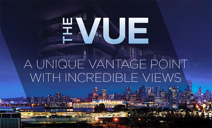 The VUE North Vancouver condo building.