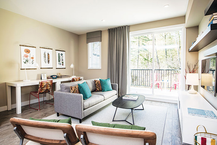 South Surrey townhomes at The Woods now selling.