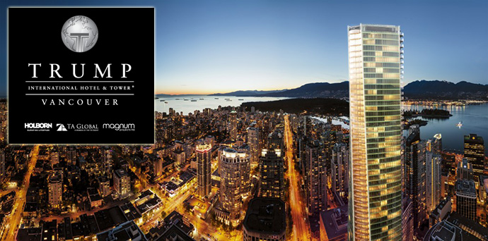 Trump International Hotel & Tower Vancouver condo hotel residences.