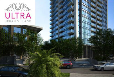 The Downtown Surrey City Centre Ultra Condominiums are part of Weststone Properties Urban Village Community.