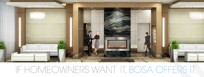 Lobby entrance at tower 1 in Coquitlam's UPTOWN Condos.