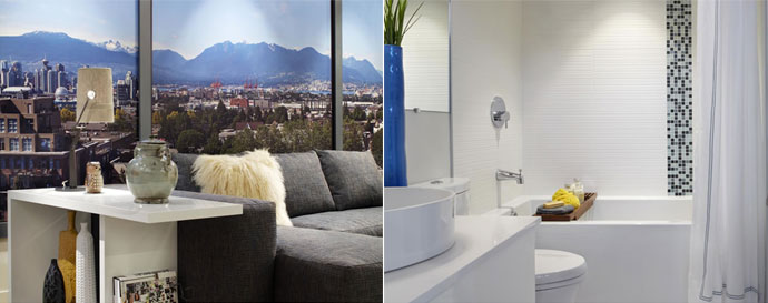 The SoMa Uptown Vancouver Condos for Sale have impressively high-end interior finishing.