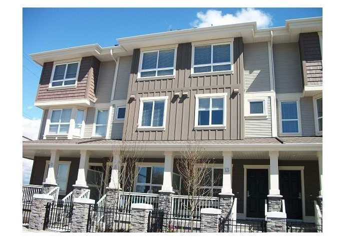 The Richmond Valencia Gardens Townhomes by Western Construction.