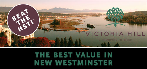 Best New Westminster Condo Value at the Victoria Hill Condo Towers