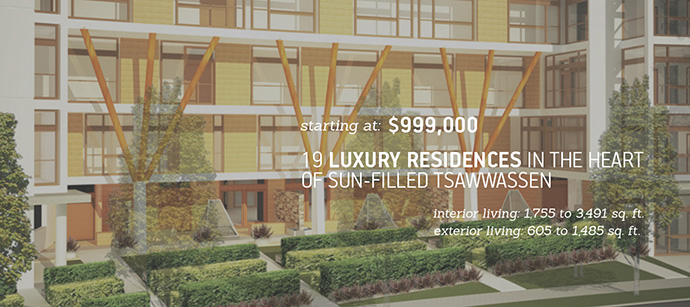 Luxury Tsawwassen view homes for sale at The View.