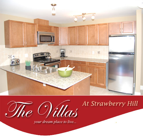 The Villas at Strawberry Hill Surrey real estate development now selling.