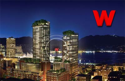 The Gastown Woodwards condo project is now nearing completion for summer 2009 with upscale downtown Vancouver tower residences for re-sale.