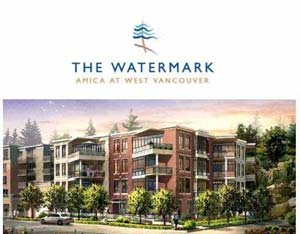 Amica Watermark luxury residences in West Vancouver real estate market are now available at re-sale listings with the utmost in interior design features and finishes.