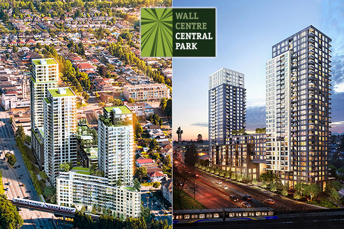 More new renderings of the Vancouver transit oriented master planned community.