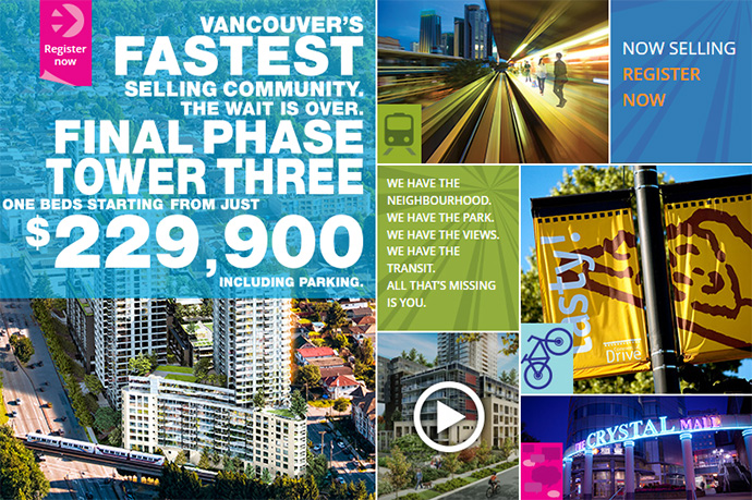 Pre-construction Vancouver condos priced from $229,900 is an outstanding value.