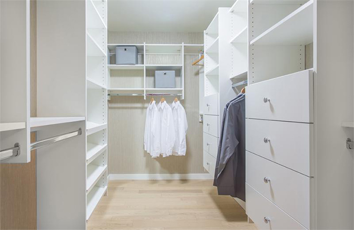 Beautiful closets.