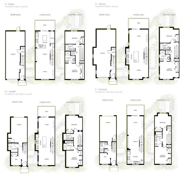 Affordable WESTWOOD Coquitlam floorplans available now in this amazing development.