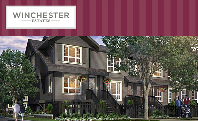 The Murrayville Langley Winchester Estates includes 71 new Townhouses in a historic neighbourhood.