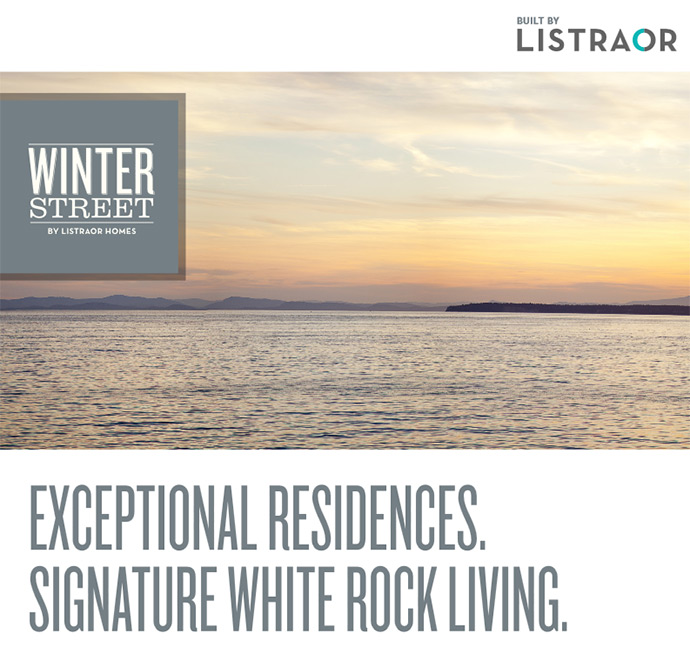 Winter Street White Rock oceanside apartments for sale.