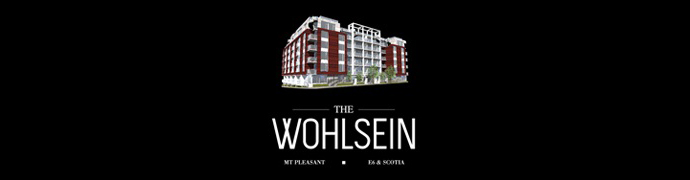 The Wohlsein Vancouver Condos in Mount Pleasant Brewery Creek District.