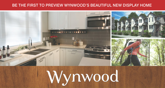The Wynwood Coquitlam Townhomes by Bogner Development