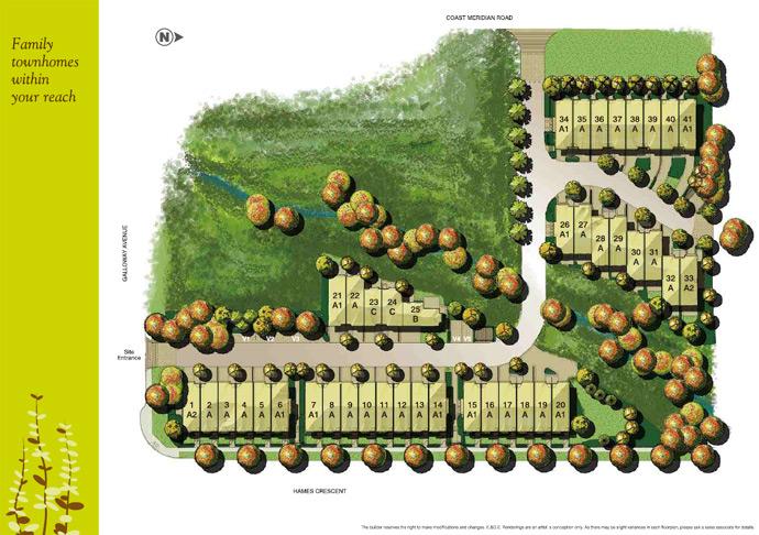 The new Wynwood Burke Mountain Coquitlam real estate development