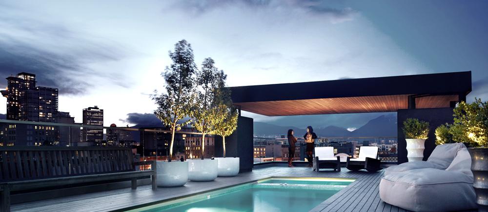 The Vancouver Condo Buzz Penthouse 1 - Modern-penthouse-by-altus-architecture-design