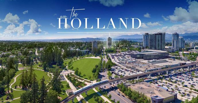 The Holland Surrey City Centre Condo Development