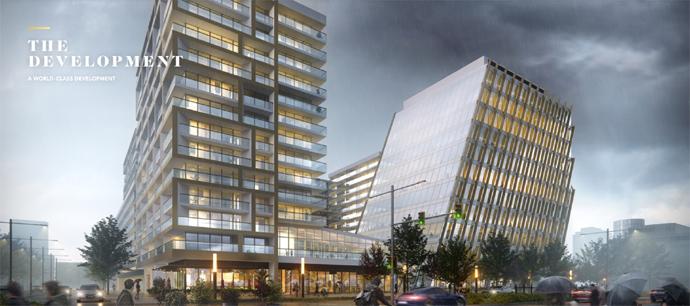 The Paramount condo development in Richmond BC